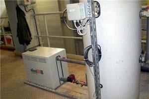 Котел, работающий на электромагнитной индукции