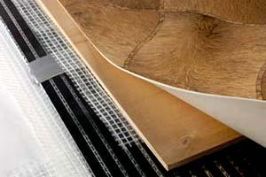 Теплый пол и линолеум в качестве напольного покрытия