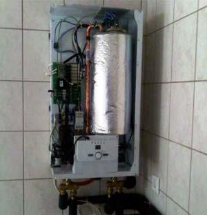 Двухконтурный электрический котел отопления