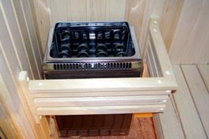 Электропечь для сауны