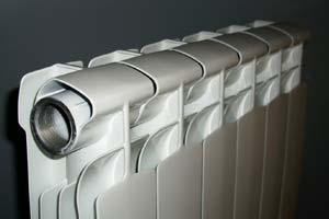Батареи отопления из алюминия