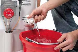 Сливаем воду из водонагревателя самостоятельно