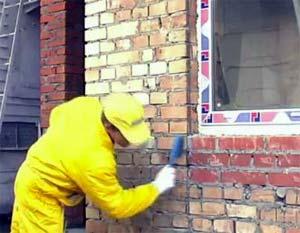 Подготовка стен к утеплению
