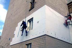 Утепление стен снаружи пенополистиролом