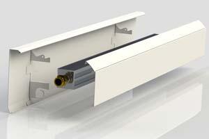 Конвектор отопления на водяной основе