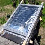 Солнечный водонагреватель