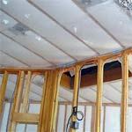 Утепление потолка в доме