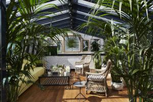 Как сделать зимний сад в загородном доме