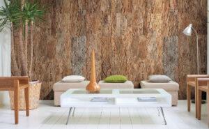 Обустройство квартиры: использование природных материалов